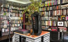 immobilier de luxe bibliothèque appartement parisien