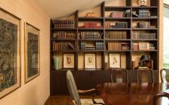 maison familiale à l'intérieur design rustique
