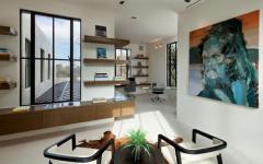 touches éclectiques maison de luxe californie bel air