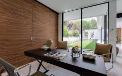 bureau à la maison exemple d'amenagment mobilier