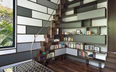 intérieur design original bureau maison moderne