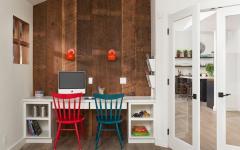 bureau décor rustique maison de famille