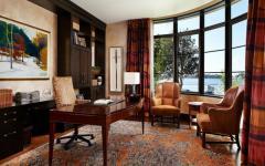 bureau massif aménagement luxe
