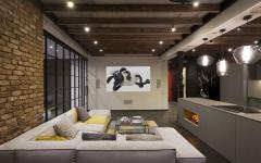 assise de luxe canapé d'angle loft