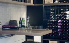 cave à vins maison moderne australienne