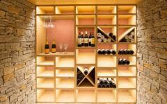 cave à vin en bois maison