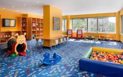 garderie centre enfants immeuble de luxe