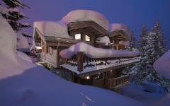beau chalet de vacances ski Courchevel