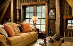 séjour chalet en bois luxe