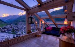 chalet de montagne luxe alpes suisses