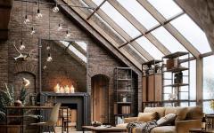 loft rustique design luxueux lumineux