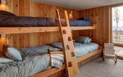 lits superposés maison en bois utah américaine