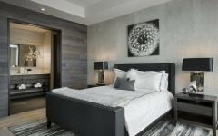 chambre design gris tendance chalet