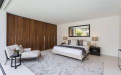 spacieuse chambre d'amis maison de luxe