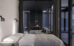 chambre ouvert loft villa mer vacances