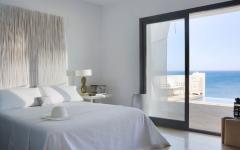 Chambre avec vue sur mer villa de luxe