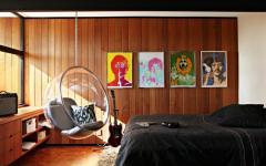 chambre d'ado décoration artistique