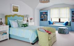 chambre d'enfant dans des couleurs pastel