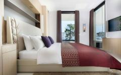 chambre moderne design déco villa de luxe