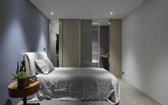 chambre d'amis design minimaliste appartement