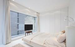 chambre décoration design épurée