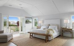 magnifique chambre à coucher en blanc