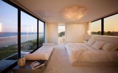 chambre principale maison de vacances luxe mer