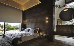 chambre lit double originale vue sur mer