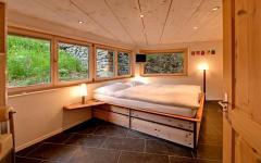 chambre à coucher location de vacances alpes