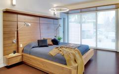 chambre déco minimaliste bois