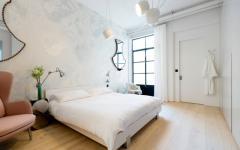 chambre élégante en blanc