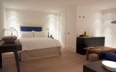 ameublement simple et élégant chambre villa à louer luxueuse
