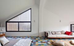 chambre spacieuse design moderne