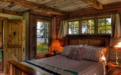 petite chambre rustique maison du lac
