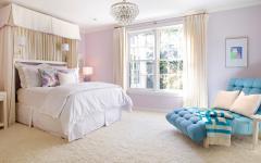 chambre à coucher moderne déco éclectique