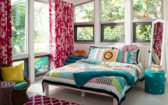 chambre décoration en couleurs