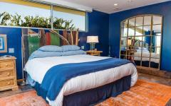 double lit chambre rustique déco éclectique