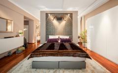 chambre à coucher au design sympa