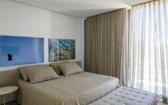 chambre lit double maison de plage neuve