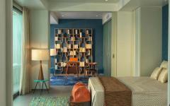 chambre design déco moderne villa de vacances luxe