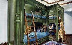 mobilier lit superposé enfants luxe