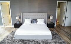 chambre moderne et contemporaine en gris