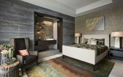 chambre à coucher maison rustique