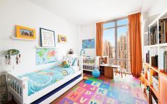 chambre d'enfant appartement de luxe manhattan