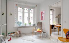 chambre d'enfant design scandinave minimaliste