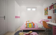 petite chambre de fille appartement