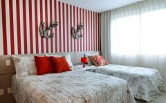 chambre d'ami décoration maritime marine villa de vacances