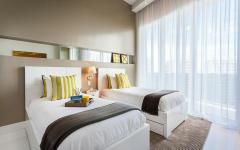 chambre lits séparés enfants