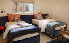 chambre lits séprarés enfants