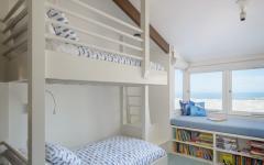 enfants lits superposés aménager chambre sous toit
